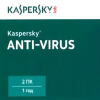 Kaspersky Anti-Virus 2015 Russian Edition. 2-Desktop 1 year Renewal Card